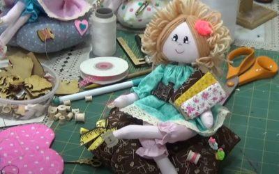 ¡El paso a paso de cómo hacer una muñeca de trapo!
