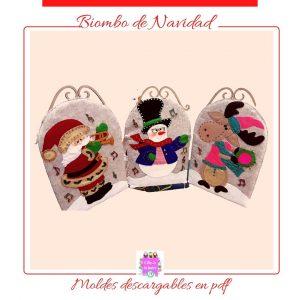 Moldes de Navidad para manualidades (2)