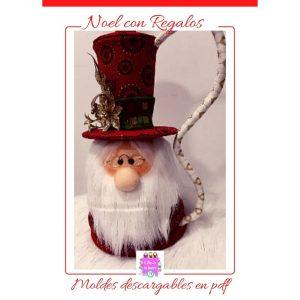 Moldes para muñequería navideña (2)