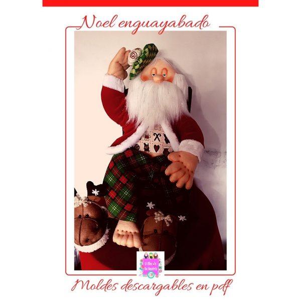 Moldes para muñequería navideña (3)