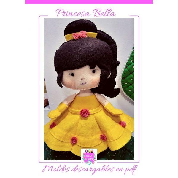 Moldes para muñequería Princesas Disney